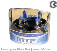 HB4/9006 MTF Light Palladium 4547K [EUROBOX 2 шт. 55W 451Lm P22d]