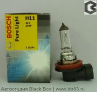 H11 BOSCH Pure Light [1 шт. 55W PGJ19-2]