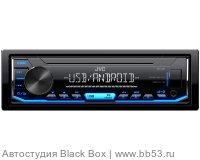 JVC KD-X151 [без CD/mp3/USB/EQ/1 RCA sub control/синяя подсветка]
