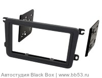 Metra 99-9011 Рамка VW Jetta/Passat B6/Golf 5/Caddy 2din