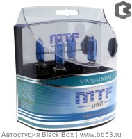 H11 MTF Light Vanadium 4344K [EUROBOX 2 шт. 55W 640Lm PGJ19-2]