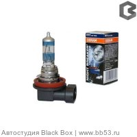 H11 Osram NIGHT BREAKER UNLIMITED +110% 64211NBU [EUROBOX 2 шт. 55W 1350Lm PGJ19-2 10X2 +110%]