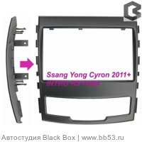 Intro RSY-N04 Рамка SsangYong Action (11->) 2din