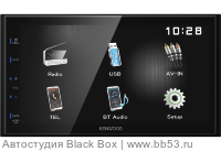 "Kenwood DMX-110BT [6.8""/без DVD/BT/mp3/USB/AV In/AV Out/3 RCA out]"