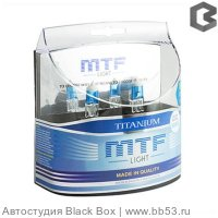 H27/881 MTF Light Titanium 3655K [EUROBOX 2 шт. 27W 319Lm PGj-13]