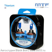 H8 MTF Light Titanium 4400K [EUROBOX 2 шт. 35W PGJ19-1]