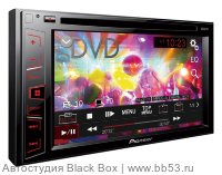 "Pioneer AVH-180 [6,2"" WVGA/DVD/mp3/USB/2 AV In/2 RCA out/красная подсветка/2016]"