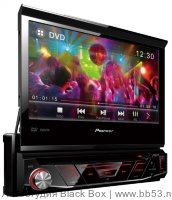 "Pioneer AVH-3800DVD [7"" мото дисплей/DVD/mp3/USB+AUX in/EQ/3 RCA out Sub control/красн. подсв.]"