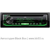 JVC KD-R497 [CD/mp3/USB/EQ/1 RCA sub control/зеленая подсветка]
