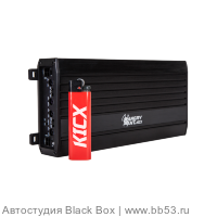 Kicx Angry Ant 4.100 [RMS: 4x100W 2x300W (4 Ом) 4x150W (2 Ом)/регулир. low-pass фильтр/268х100х35мм]