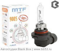 HB3/9005 MTF Light LongLife Standard + 30% 3000K [BOX 1 шт. 65W 1650Lm P20d]