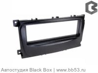 Intro RFO-N11 Рамка Ford C-Max/Focus 2/Fusion/Fiesta (05->)/S-Max/Transit/Galaxy SONY 1din BLACK