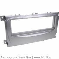 Intro RFO-N11S Рамка Ford C-Max/Focus 2/Fusion/Fiesta (05->)/S-Max/Transit/Galaxy SONY 1din SILVER
