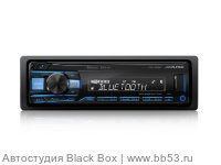 Alpine UTE-200BT [бездисковая/Bluetooth/front USB+AUX in/EQ/2 RCA Sub control/любая подсветка]