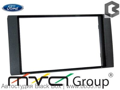 ACV PR34-1063 Рамка Ford FocusII/C-Max/Fiesta/Fusion/Transit/S-Max (05->) 2 din