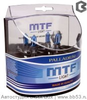 H1 MTF Light Palladium 4315K [EUROBOX 2 шт. 55W 512Lm P14.5s]