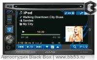 "Alpine IVE-W530 [6,1""/DVD/mp3/frontUSB/iPhone+iPod/AUX/3 RCA out sub control/4 цвета подсветки]"